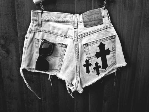 b&w, black and white, clothing, cross, denim