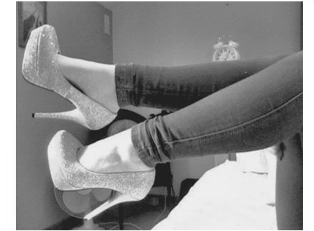 b&w, black and white, fashion, female, high heel, high heels, jeans, leg, legs, pants, pants jeans, shoe, shoes