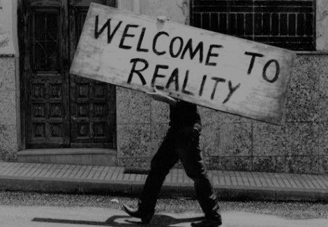 b&w, black and white, reality, text, welcome
