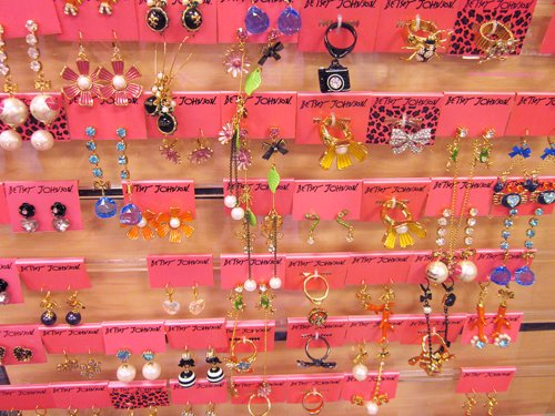 barbie, betsey johnson, fashion, jewelry, pink