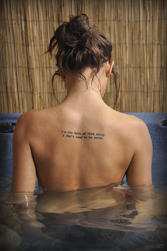 bare, girl, regina spektor, tattoo