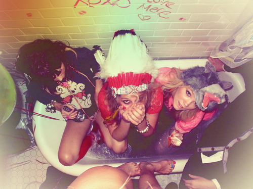 bath, drunk, forever young, party
