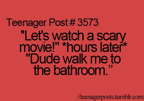 bathroom, dude, funny, haha, movie, movies, quotes, scary, scary movie, so me, so true, sooo me, teen, teenager post, teenager posts, text, true, typography