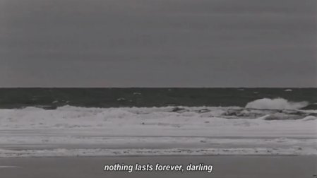 beach, black and white, darling, life, sea, text, true, truth, wave