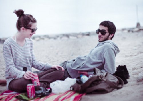 beach, boy, coca cola, couple, cute