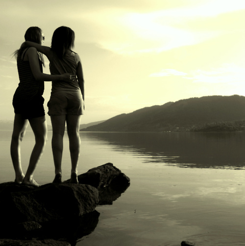 beach, forever, girls , life, nature