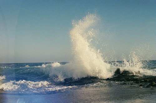 beach, impact, nature, ocean, summer, sun, water, wave, waves