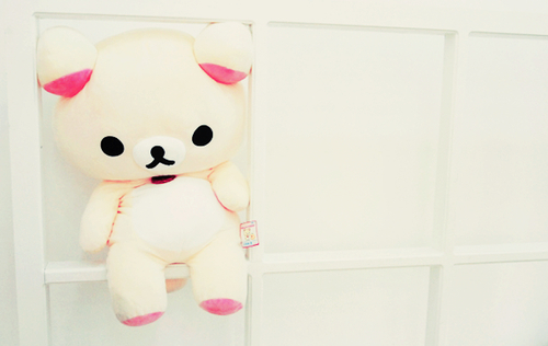bear, cute, japan, plush, rilakkuma, white