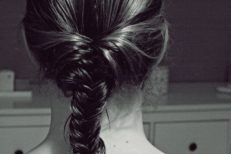 beatiful, braid, cute, girl, hair