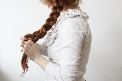 beautiful, beautiful hair, braid, brunette, fashion