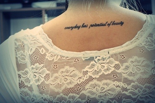 beautiful, beauty, blonde, cute, girl, photography, phrases, pretty, t-shirt, tattoo, tattoos