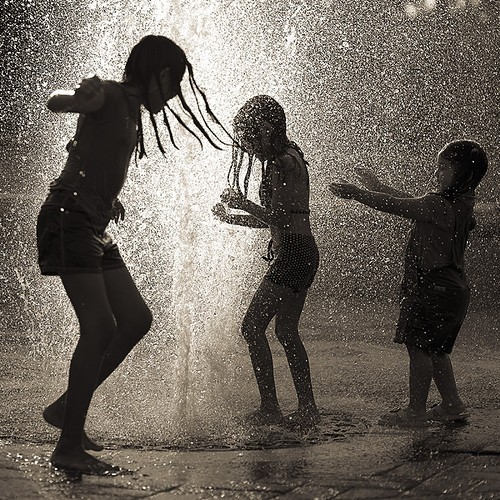 beautiful, black and white, children, cute, enjoy, happy, life, summer