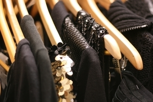 beautiful, black, classy, cloth, clothes