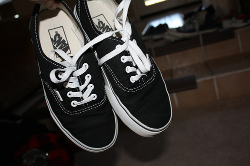 beautiful, black, cool, shoes, vans, vans of the wall