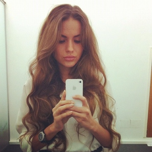 beautiful, blond, blond hair, blonde, blonde hair, curls, fashion, girl, hair, lips, long hair, mirror pic, mirror picture, sexy, watch