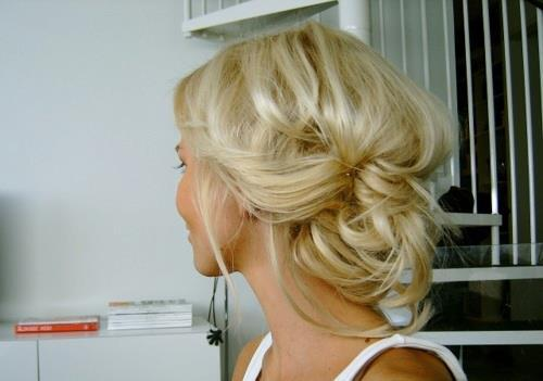 beautiful, blond, blonde, bun, cute, fashion, fashionista, hair, hairstyle, hot, pretty, style