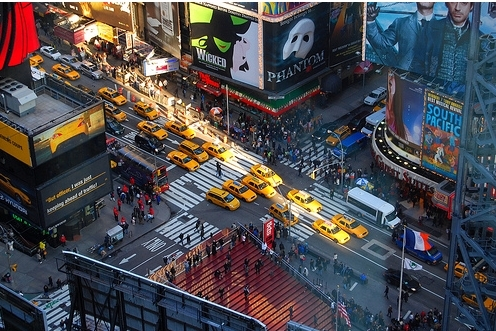 beautiful, broadway, cabs, cars, cool