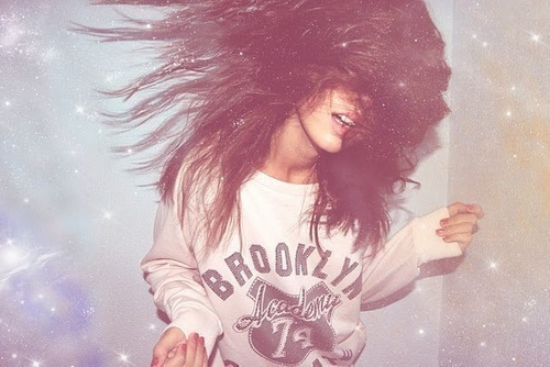 beautiful, brunette, cute, fuckyeah, fun, fwhi, girl, glitter, hair, happy, hipster, photography, pretty, stars, swag