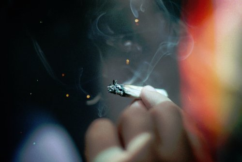 beautiful, cigarette, dope, joint, kush