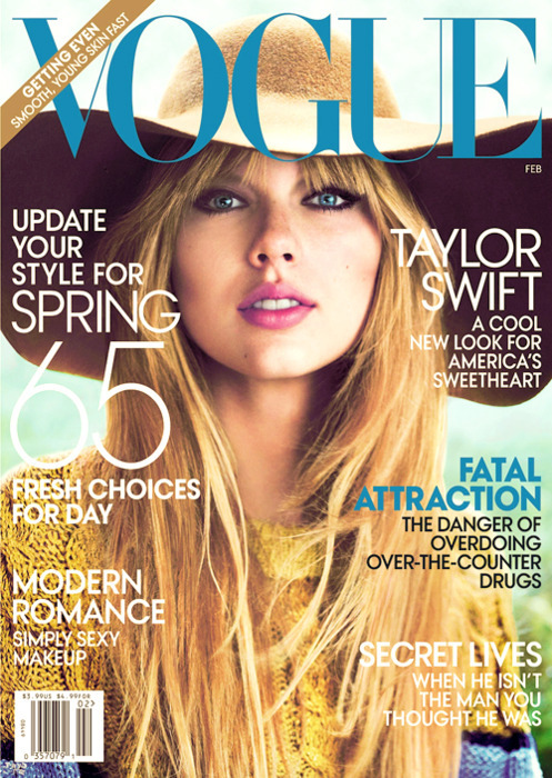 beautiful, cover, cover of magazine, cute, eyes, fashion, freckles, girl, lips, lovely, magazine, pretty, sexy, swift, taylor, taylor swift, vintage, vogue