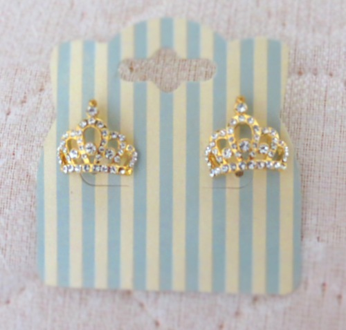 beautiful, crown, cute, earings, fashion