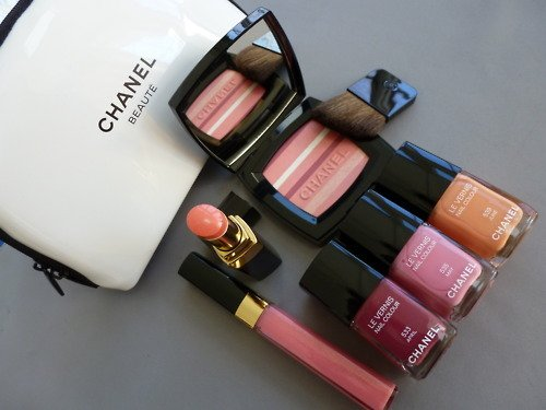 beauty, chanel, cute, fashion, lipstick, love, makeup, nail polish, pink, summer