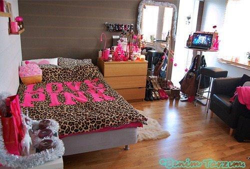 bedroom cute fashion love pink image 433563 on