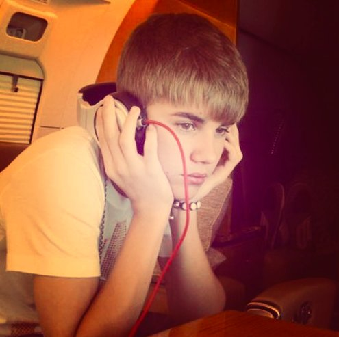 beliebers, believe, bieber, cute, headphones