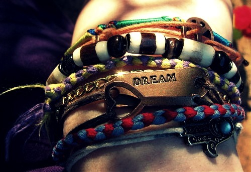 believe, bracelets, dream, heart, hope