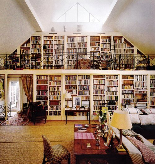 big, books, house, library, omg