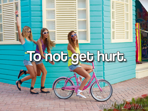 bike, colourfull, girls , my2012wishes, not get hurt
