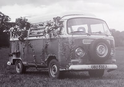 black and white, bohemian, free, hippie, volkswagen