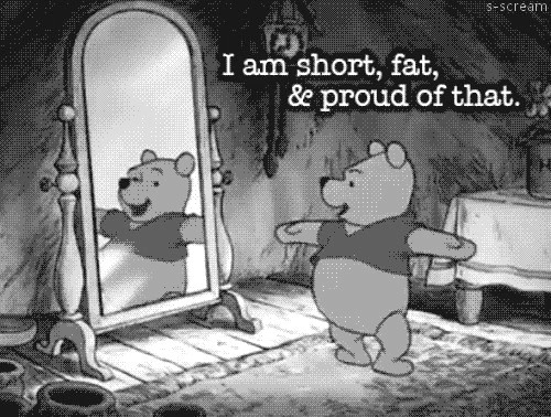 black and white, catoon, fat, funny, lol, pooh, short