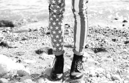 black and white, cool, dr martens, fashion, pants