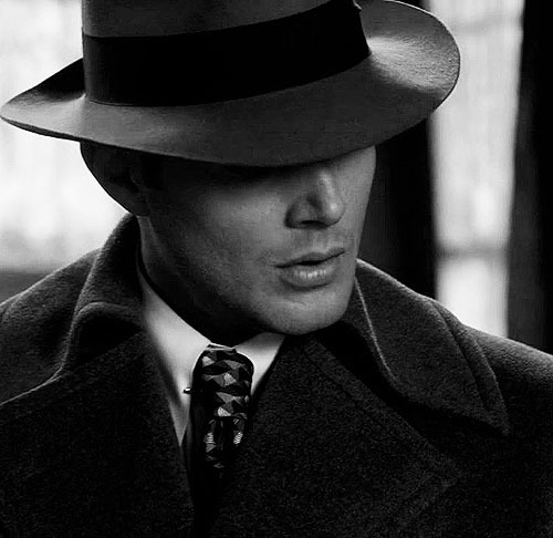 black and white, dean winchester, jensen ackles, spn, supernatural