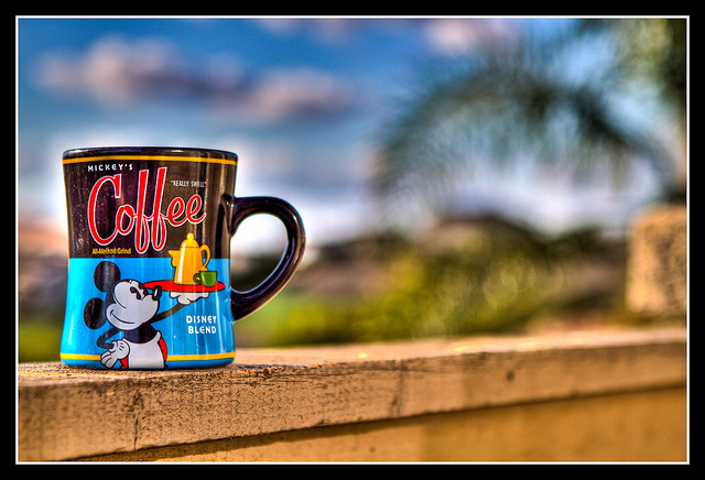 black, blue, cartoon, coffee, coffee mug