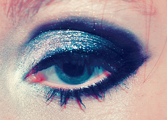 black, blue, eve, eyeliner, eyes