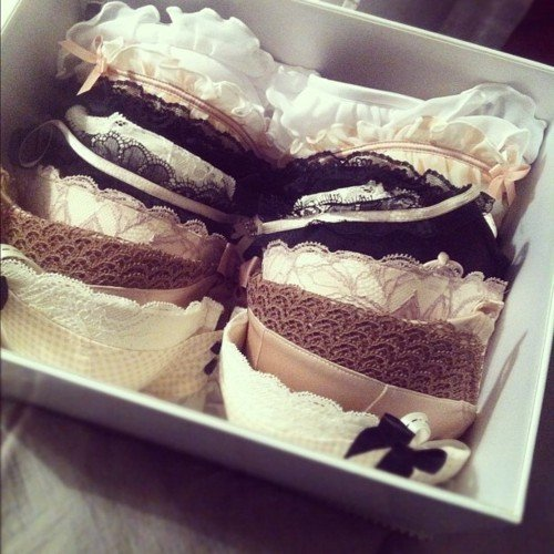black, bow, box, bra, bras, brown, cream, cute, fashion, lace, love, underwear, white