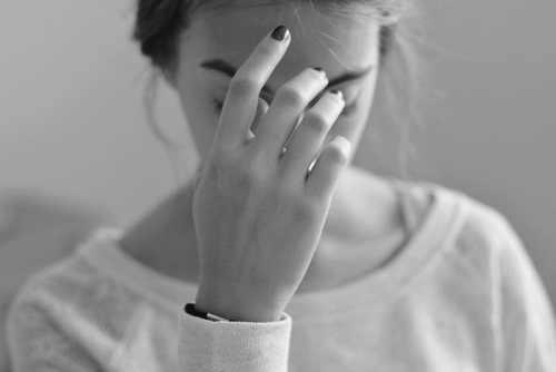 black&amp;white, girl, hand, photography
