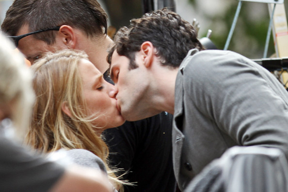 blake lively, couple, gossip girl, penn badgley, serena van der woodsen