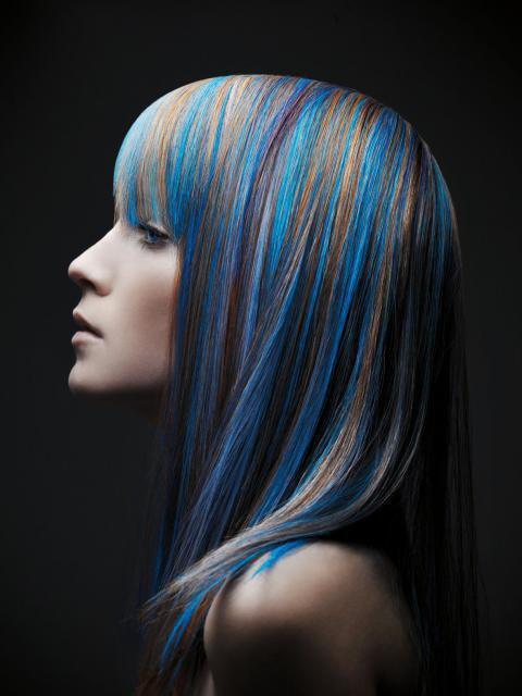 blonde, blue, color, hair, hairstyle