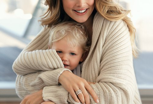blonde, boy, cute, family, mom