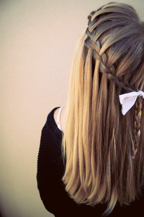 blonde, braids, fashion, girl, girly