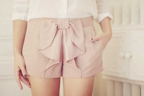 blouse, bow, classy, fashion, girl