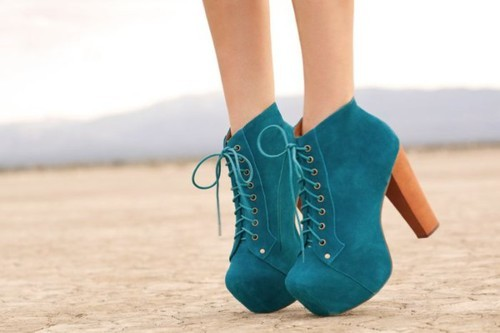 blue, campbell, designer, fashion, girl, girly, green, heels, high heels, jeffrey campbell, jeffrey campbell lita, legs, lita, outfit, shoes, skin