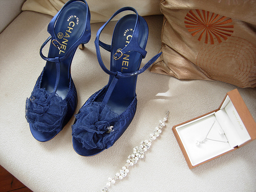 blue, chanel, cute, fashion, heels
