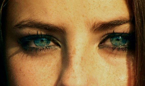 blue eyes, effy stonem, eyes, freckles, kaya