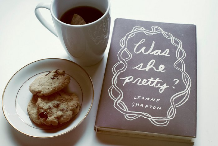 book, breakfast, coffee, cookies, cup