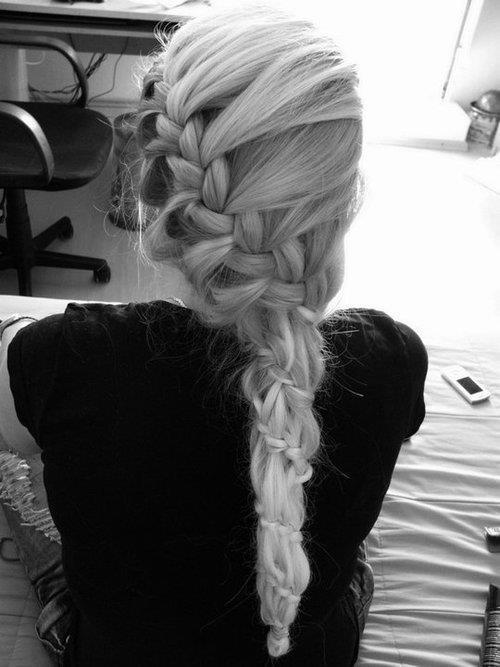 bow, braides, bun, fashion, girl