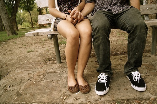 boy, couple, cute, girl, legs